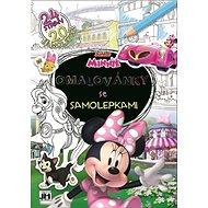 Omalovánky se samolepkami Minnie - Kniha