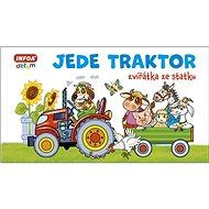 Jede traktor: zvířátka ze statku - Kniha