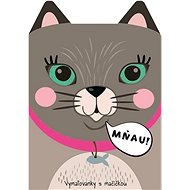 Coloring pages with a cat Meow! - Creative Kit