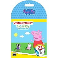 Peppa Pig travel colouring book: with wax crayons - Creative Kit