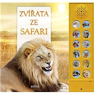 Zvířata ze safari - Kniha