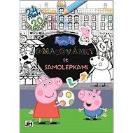 Omalovánky se samolepkami Peppa Pig - Kniha