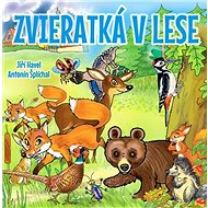 Zvieratká v lese - Kniha