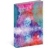 Denní diář Cambio Fun 2021, Mandala - Diář