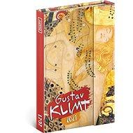 Týdenní magnetický diář Gustav Klimt 2021 - Diář