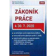 Zákoník práce k 30. 7. 2020 (sešitové vydání) - Kniha