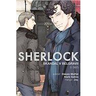 Sherlock Skandál v Belgrávii: 1. část - Kniha