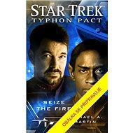 Star Trek Typhonský pakt Plamenům navzdory - Kniha
