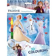 Ice Kingdom 2 Coloring Book 3D Characters - Creative Kit