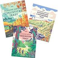 Balíček Úchvatné světové trasy: Automobilové a motorkářské trasy, Cyklistické trasy, Trekingové tras - Kniha