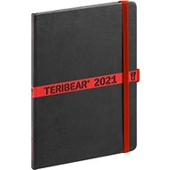 Týdenní diář Teribear 2021, 15x 21 cm - Diář