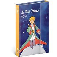 Týdenní magnetický diář Malý princ – Planeta 2021, 11 x 16 cm - Diář