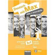 Deutsch mit Max neu + interaktiv 1 Pracovní sešit 3v1: Pro základní školy a víceletá gymnázia - Kniha