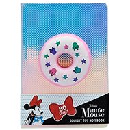 Notebook with squishy toy Donut