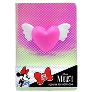 Notebook with squishy toy Heart