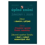 Aktualizace I/8 2020 - Úplné znění Zákona o daních z příjmů: Zrušení daně z nabytí nemovitých věcí b - Kniha
