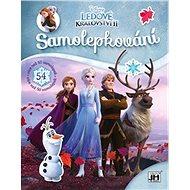Samolepkování Ledové království 2 - Kniha