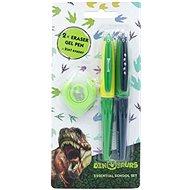 Eraser pens in a set of Dinosaurs - Gel Pen