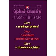 Aktualizácia III/8 2020: Zdravotné a sociálne poistenie počas a po období pandémie - Kniha