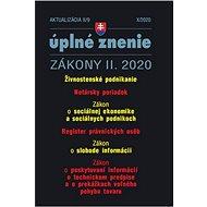 Aktualizácia II/9 2020 –Legalizácia príjmov z trestnej činnosti: Sociálna ekonomika a register právn - Kniha