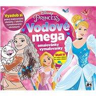 Water mega colouring book Princess