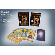 Egyptský tarot lásky: kniha a 24 karet