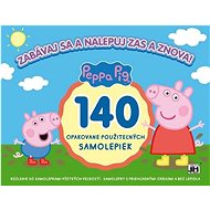 Have fun and stick it again and again! Peppa Pig: 140 reusable stickers - Sticker
