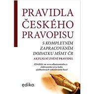 Pravidla českého pravopisu: s kompletním zapracováním MŠMT ČR - Kniha