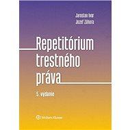 Repetitórium trestného práva - Kniha