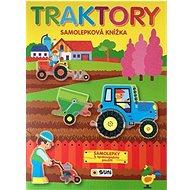 Traktory samolepková knížka: Samolepky k opakovanému použití