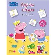 Samolepková knížka Celý den s Peppou