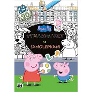 Coloring book with Peppa Pig stickers - Creative Kit