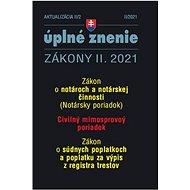 Aktualizácia II/2 2021: Súdne poplatky a poplatky za výpis z registra trestov - Kniha