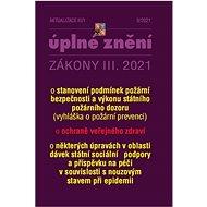 Aktualizace III/1 2021 – Zákon o ochraně veřejného zdraví - Kniha