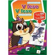 V lese Nálepkové puzzle: V lese  Nálepkové puzzle - Kniha