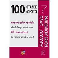 Pandemický zákon s komentářem, OSVČ: Mimořádná opatření a kompenzace - Kniha