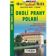 Okolí Prahy, Polabí turistická mapa 1:100 000: 208 - Kniha