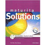 Maturita Solutions Intermediate Student's Book:  ROM - Kniha