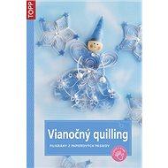 Vianočný quilling: SK3780 - filigrány z papierových pásikov
