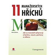 11 manažerských hříchů - Kniha