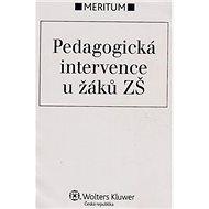 Pedagogická intervence u žáků ZŠ - Kniha