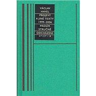 Projevy a jiné texty 1999 - 2006, Prosím stručně, Odcházení, Spisy/8 - Kniha