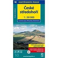 České středohoří: Turistická mapa č. 10 1:50 000 - Kniha