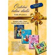 Ozdobné balení dárků komplet 3+1 - Kniha