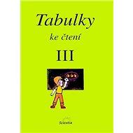 Tabulky ke čtení III. - Kniha
