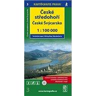 České středohoří České Švýcarsko: 1:100 000 - Kniha