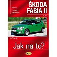 Kniha Škoda Fabia II. od 4/07: Údržba a opravy automobilů č.114 - Kniha