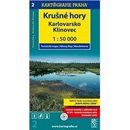 Krušné hory Karlovarsko: 1:50 000 - Kniha