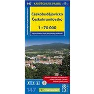 Českobudějovicko Českokrumlovsko: cykloturistická mapa č.147 1:70 000 - Kniha