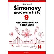 Šimonovy pracovní listy 9: Grafomotorika a kreslení - Kniha